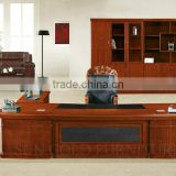 Luxury Wooden Office Table MDF Classic Office Design Photos Executive Office Desk (SZ-OD522)