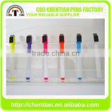Alibaba China Supplier Marker Pen With Brush