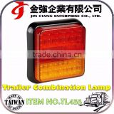 New product E-MARK LED Trailer Light waterproof rear combination tail lamp
