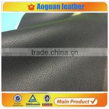 2016 lichee leather pattern pu leather with flocking backing microfiber leather of embossed leather                                                                                                         Supplier's Choice