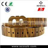 2016 new idea products factory wholesale man fashion natural wooden belts                                                                         Quality Choice