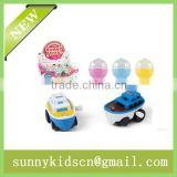 Hot selling animal wind up toy boat