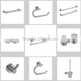 Modern Wall Mounted Low-caben Steel Bathroom hardware Accessories Sets for home bathroom 6D25