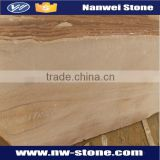 Yellow / Beige Sandstone,Bush Hammered Surface Finishing and Sandstone Type Mint Sandstone