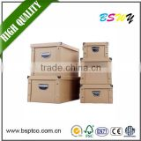 China factory hot selling custom high quality cardboard storage box paper storage box with new technology