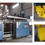 Extrusion blow moulding machine for road barrier anti-bump barrel crash cushion