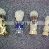 Customized Different Kinds Wooden Shaving Brush with Plastic Handle