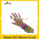 Hot product silicone rubber band for rainbow loom bracelet