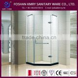 Aluminum Profile Hinge Frameless Tempered Glass Shower Door /Spa Shower Bath Cabin(KK3001)