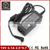 High quality Universal AC DC Power Supply Adapter 19V 2.1A 40w 2.5*0.7mm Charger for Asus N17908 V85 R33030 XH Laptop adapter