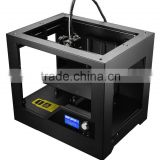 Best desktop Assembled 3D printer for professional user, ready to use with LCD ,0.1 mm solution, big size can be printed cura