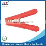 Crocodile Clamp For Charging Battery Charger Plated with Red Copper Thickened Tube