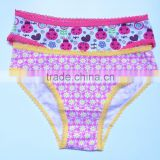 new design girls thong children underwear panty soft cartoon