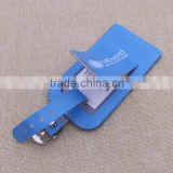 Custom design leather luggage tag/pvc baggage tag for business gifts                                                                                                         Supplier's Choice