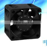 High speed PSC DC Axial Fan : 40*40*28mm with EC & UL for Blade Pitch Cooling and Gas Compressor Stations