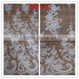 zari embroidery fabrics/stones pearl fabric/french net lace/embroider lace tulle fabric/embroidery lace fabric/Beads Trimming