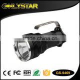 Onlystar GS-9469 torch hand-held searchlights portable search light rechargeable 18650 battery powered for hunting light