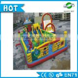 Big 0.55mm PVC buy commercial inflatables, kids inflatanble cartoon amusement park for sale