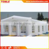 outdoor inflatable hail proof car cover tent/ inflatable garage tent for sale