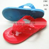 Cheap fashion PVC jelly girls open-toe sandals