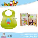 Bear pattern New baby product artoon bib pvc bib