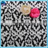 Fashion Knitted Jacquard Fabric cotton Polyester Spandex Jacquard Knitted Fabric for Garment