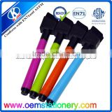 Wholesale custom 4 colora ink dry erase window markers erasable bulk with OEM logo printing