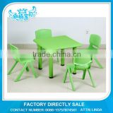 Type free daycare furniture table and chairs for kids