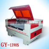 Hot selling GY 1390 1300x900mm 80W100W130W design as customer's requirements CO2 laser cutting machine used