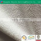 Hotsale plain colored polyester supersoft burn out sofa fabric velboa Oeko Tex100 certificated from China manufacture ZJ066