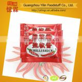 6g hot chili sauce sachet mini package