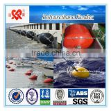 XINCHENG high quality mooring ship floating buoy polyurethane foam fender