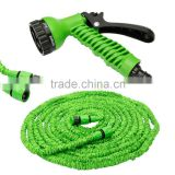 100 FEET Expanding Expandable Flexible Garden Hose Pipe with Spray Gun for Plants Watering and Car Washing