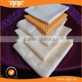 table napkin folding design white linen hemstitch napkins
