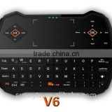 Factory price 2.4G Wireless Remote Control QWERTY Keyboard I9 Air Mouse for PC/Android Tv Box,X360, Gaming