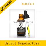 Hot sales private label herbal ingredients conditioning beard oil 1fl oz / 30ml