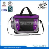 Polyester Material promotional briefcase with mesh pocket