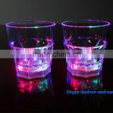 250 ml LED Wishkey Cup With Colorful Light up Glowing In Dark