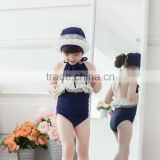 Custom design Children swimwear Professional bathing suit fabrics waterproof kids swimming suit