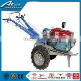 8-20hp diesel dongfeng hand operated walking tractor