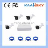 2015 New hot sale poe ip camera kit 4ch camera connection kit with high quality