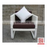Best Selling wholesale PE rattan basket chair /antique living room chairs/coffee table garden leisure furniture supplier