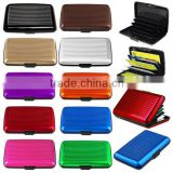 Aluminum Business ID Credit Card Wallet Holder Aluminum Metal Pocket Case Box Waterproof