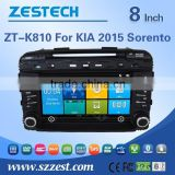 dashboard car dvd car radio for KIA Sorento with GPS+SWC+BT+3G+DVD+Radio+WIFI+Digital TV