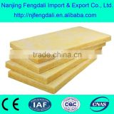 Glass wool blanket with Alum.foil faced one side/glass wool for building and industry insulation