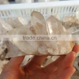 100% Natural Small Clear Crystal Cluster Decorative Quartz Crystal Cluster