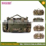 2016 mens army surplus military travel waist bag with high quality