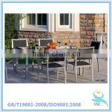 Express alibaba texitlene dining set,cheap china KD table dining set,high quality dining chair set