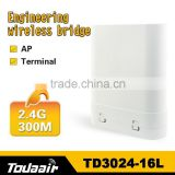 Wide Coverage 2.4G 300M wireless bridge&wireless access point &wireless Terminal&two way radio repeater