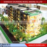 Building house apartment scale model for real estate exhibition,miniature architectural model making